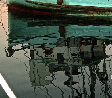 Ship Reflection Right side up